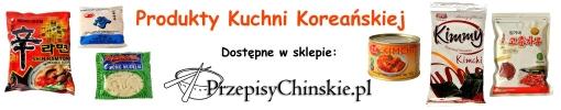 Produkty Kuchni Koreańskiej