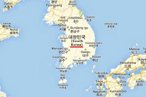 Mapa i Położenie Korei
