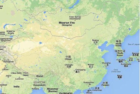 Mapa i Położenie Chin