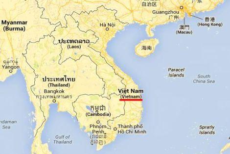 Mapa i Położenie Wietnamu