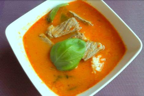 Wołowina z Pastą Panang Curry