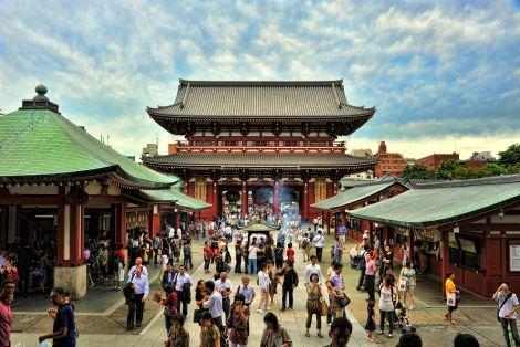Asakusa - Dzielnica Historyczna