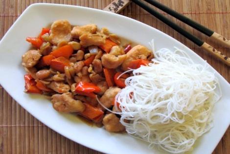 Kurczak po Syczuańsku