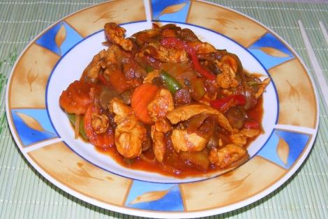 Kurczak Seczuan
