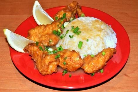 Kurczak w Sosie Cytrynowym