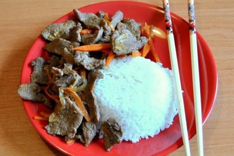 Wołowina Po Syczuańsku