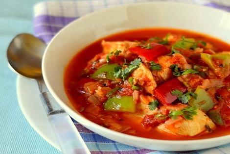 Pikantny Kurczak Curry