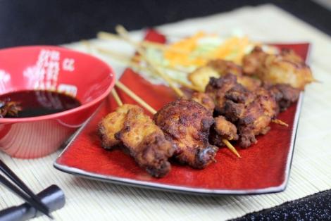 Japoński Kurczak Yakitori