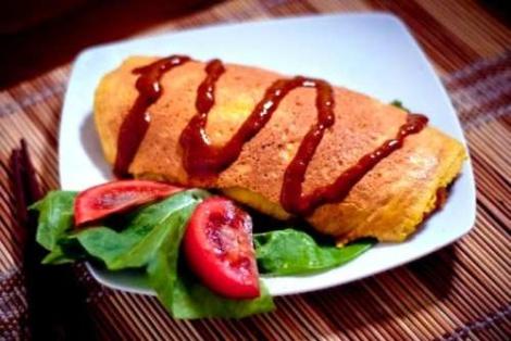 Japoński Omlet Omurice