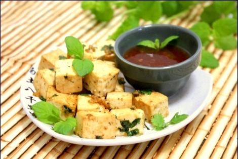 Przekąska z Tofu