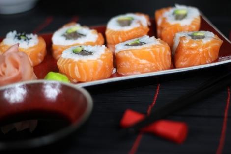 Sushi Alaskan Maki