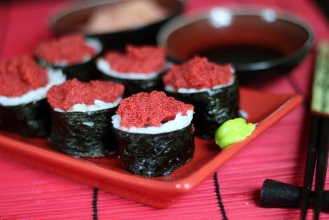 Sushi Maki z Kawiorem