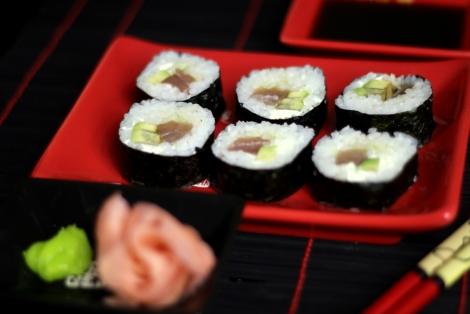 Sushi Maki z Tuńczykiem