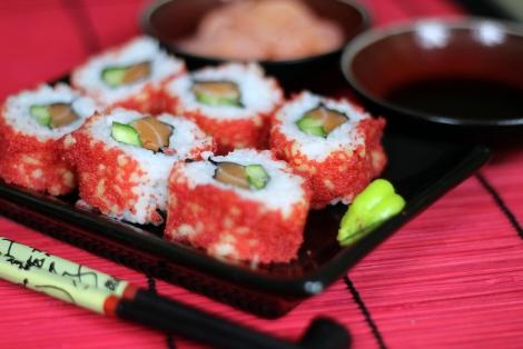 Sushi Uramaki z Kawiorem