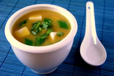 Zupa z Dyni i Miso