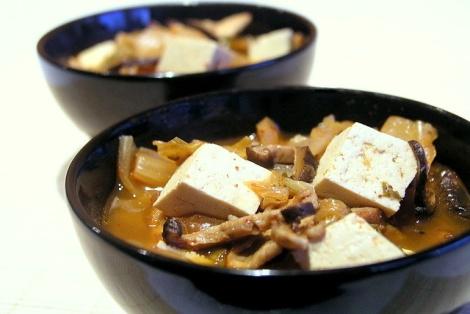 Koreańska Zupa Z KimChi