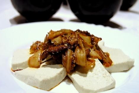 Tofu Ze Smażoną Kapustą KimChi
