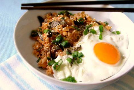 Ryż Smażony z Kimchi