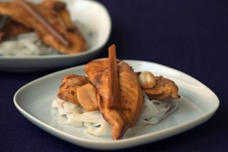 Kurczak w Karmelu z Trawą Cytrynową