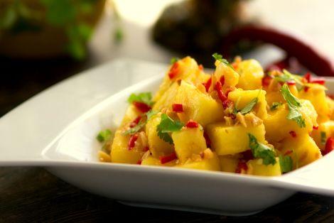 Sałatka z Ananasa