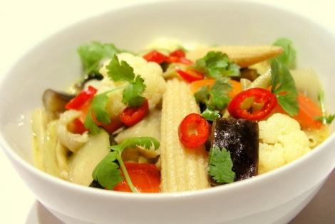 Warzywa w Żółtym Curry