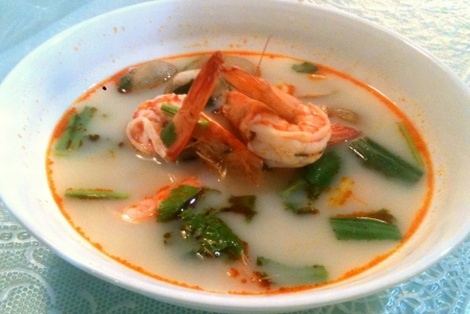 Zupa Tom Yum Kung