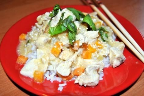 Kurczak Curry Po Wietnamsku