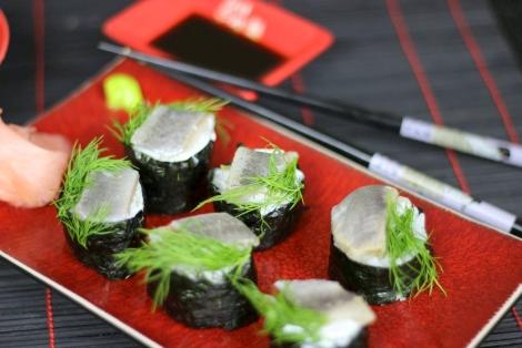 Sushi Maki Ze Śledziem
