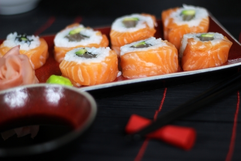 Alaskan Sushi Maki